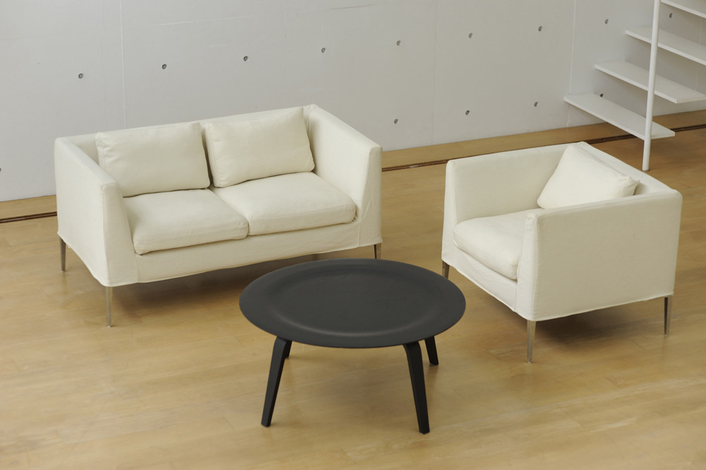 ソファ(2人掛け)+ソファ(1人掛け)+コーヒーテーブル